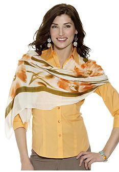 Love the look...I'm into scarves! What a great look for fall!