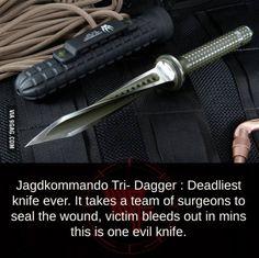 Deadliest knife