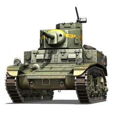 M3 US Light Tank Stuart