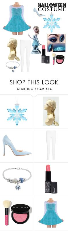 """Do you want to build a snowman?"" by peacock-style ❤ liked on Polyvore featuring Swarovski, Gianvito Rossi, Joseph, Disney and Bobbi Brown Cosmetics"