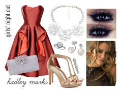 """""""Hadley Marks - Girls' Night Out"""" by hislilbearrr on Polyvore"""