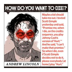 Andrew Lincoln, Norman Reedus, Danai Gurira, Lauren Cohan, Chad L. Coleman, and Michael Cudlitz envision proper endings