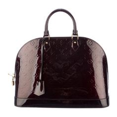 Pre-owned Louis Vuitton Vernis Alma GM found on Polyvore