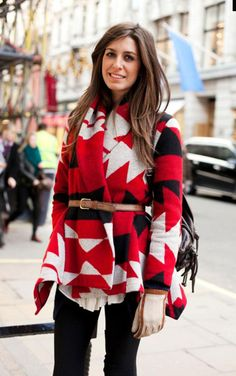 Red, Black, & White Sweater http://www.studentrate.com/fashion/fashion.aspx