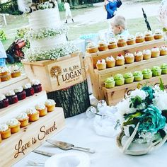 Cupcake Stand and cake stand, Rustic Wooden Cupcake stair Stand, Country Wedding, Spring Summer Fall Wedding, Wedding Cake Rustic Cupcake Stands, Rustic Cupcakes, Rustic Cake, Mini Cupcakes, Rustic Theme, Rustic Wood, Wedding Favors, Wedding Cakes, Wedding Decorations