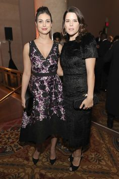Morena Baccarin Photos Photos - Morena Baccarin and Neve Campbell attend IFP's 26th Annual Gotham Independent Film Awards at Cipriani, Wall Street on November 28, 2016 in New York City. - IFP's 26th Annual Gotham Independent Film Awards - Cocktails