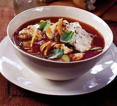 Chunky Mediterranean fish soup recipe - Recipes - BBC Good Food