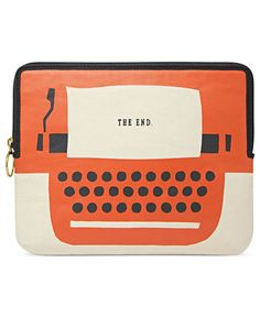 It's probably wrong that I want a tablet so I can justify buying this Fossil Tablet Sleeve.