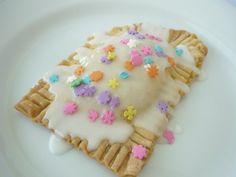 Homemade Lemon Curd Pop Tarts