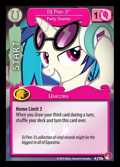 Equestria Daily: DJ Pon-3 and Nightmare Moon Cards Revealed