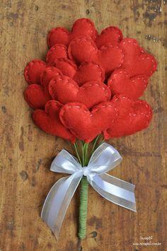 Сердца из фетра SKRMASTER.BY — Handmade ярмарка Беларусь
