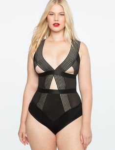 2adfb47bef Edgy Elastic Bodysuit WOW! NSFW and maybe not even safe for a date! But sexy!  😜. Edgy Elastic Bodysuit BLACK Timeless Fashion