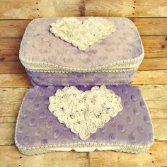 grey chenille baby wipes case set of 2 grey minky wipe by Ajobebe