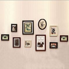 Photo Frame Collection Set of 10 Europe Style – USD $ 119.99