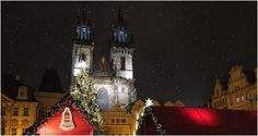 Christmas and New Year in the magical atmosphere of Prague