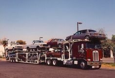 KENWORTH - C P Auto Transport with Fords