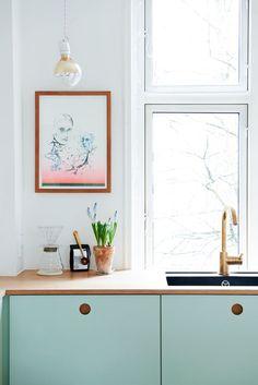 cuisine Ikea vert pa