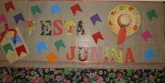 Resultado de imagem para mural de festa junina