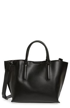 BP. Round Handle Faux Leather Tote available at  Nordstrom Backpack Purse 9b1b471235a