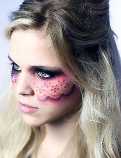 Lace makeup  Facebook.com/artfulpardox
