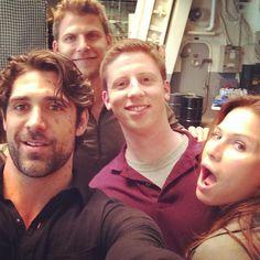 Cast on set Marcus Luttrell, Bridget Regan, Where Did It Go, The Last Ship, Lone Survivor, Agent Carter, Best Seasons, Old Tv, Harry Edward Styles