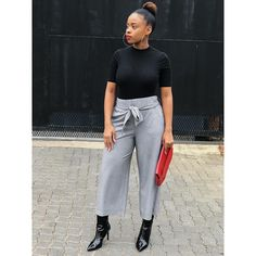 Sinovuyo Mondliwa   @sinovuyomondliwa Stylish Outfits, Style Inspiration, My Style, Lady, Simple, Pants, Pictures, Instagram, Fashion