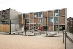 Youth center, Deurne - B-Architects