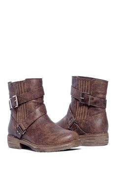 ded32822a461a Dani Short Buckle Boot by MUK LUKS Buckle Boots