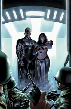 The Last Family Of Krypton #1 cover by Felipe Massafera