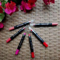 Labios Mate con Suede Matte Crayon de #glominerals