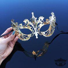 Masquerade Mask, Gold Masquerade Mask, Mardi Gras Mask, Mask, Gold Mask, Mardi Gras Mask, Masquerade Black Masquerade Mask, Masquerade Ball, Wolf Mask, Butterfly Mask, Fashion Face Mask, Mardi Gras, Eco Friendly, Priority Mail, Etsy