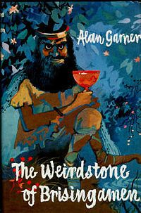 Alan Garner's The Weirdstone of Brisingamen first cast its spell over the nation's children in 1960. This is the book that awoke my LOVE of reading......I still have a copy and revisit it regularly, it still manages to touch a place deep inside....WDxxx