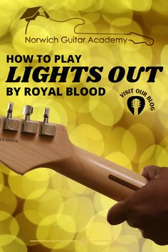 This is a great song for beginner guitarists, just grab the chords up the top of the Lights Out' image, learn them well and run through the song, I have no doubt you'll master this in no time! . . . . #easyguitarsong #simplechords #simplechordsguitarsong #simpleguitarsong #easyguitarsong #songforguitar #royalbloodguitar #guitarroyalblood Guitar Songs For Beginners, Free Guitar Lessons, Guitar Chords Beginner, Easy Guitar Songs, Fingerstyle Guitar, Royal Blood, Under My Skin, All Songs, Play To Learn