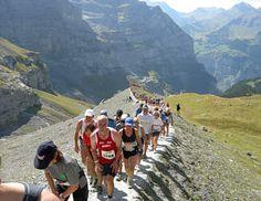 Jungfrau Marathon, Interlaken, Schweiz (1./2. September Wochenende)
