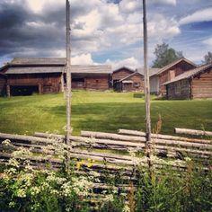 Gammelstan  Norrboda Furudal Dalecarlia Sweden Old houses