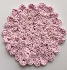 crochet rockstar: Cherry Blossom Coaster