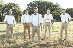 Upton Wedding // November 2, 2012 // Vintage Hipster Wedding // Groom with groomsmen