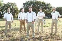 Upton Wedding // November 2, 2012 // Vintage Hipster Wedding // Groom with groomsmen
