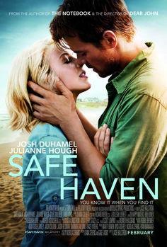 Safe Haven - http://www.robertsieger.com/movie-reviews/2013/2/15/safe-haven-its-nicolas-sparks-nuff-said.html