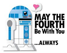 R2D2, Girlfriend May the 4th, Star Wars, May the 4th Be With You #Darth #Vader #Star #Wars #May #the #Fourth #be #with #You #Star #Wars #Day #May #meme #quote #starwars #inspiration #happy #vmcblog #fun #enjoy #starwar #sweet #girl #girlfriend #wife #love Happy Star Wars Day, Star Way, Atheist Humor, Enjoy The Little Things, Happy May, Nerd Humor, The Force Is Strong, Star Wars Collection, Love Stars