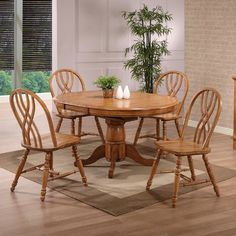 ECI Rustic Oak Extendable Dining Table & Reviews | Wayfair