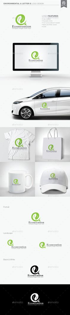 Environmental and Letter E  Logo Design Template Vector #logotype Download it here: http://graphicriver.net/item/environmental-and-letter-e-logo/11098117?s_rank=1029?ref=nexion