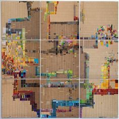 A Different Kind of Artsy Forager: Laurie Frick #art #mixedmedia