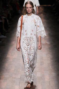 Irina: Summer Embroidery. Valentino Spring 2015 Ready-to-Wear