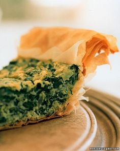 Spinach-Dill Pie Recipe