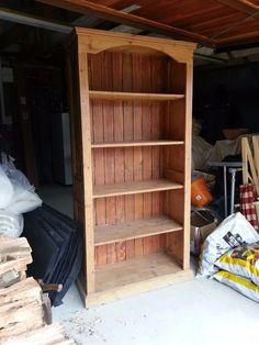Pine Bookcase, Shelves, Design, Home Decor, Shelving, Decoration Home, Room Decor, Shelving Units