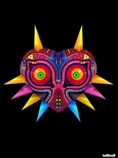 Zelda Majoras by ~TOLLTROLL this mask actually has a lot of meaning to me. I'm getting it tattooed soon! The Legend Of Zelda, Legend Of Zelda Tattoos, Legend Of Zelda Poster, Zelda Majoras Mask, Majora Mask, Link Zelda, Gaming Tattoo, Fanart, 3d Studio