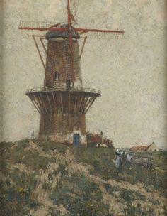 Henri Cassiers - Le moulin