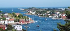 Southern Norway is the home of the Norwegian summer and is known for a rocky coastline and small villages with white wooden houses.