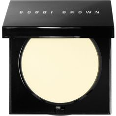 Bobbi Brown Sheer Finish Pressed Powder, 0.38 oz (125 BRL) ❤ liked on Polyvore featuring beauty products, makeup, face makeup, face powder, beauty, filler, pale yellow, bobbi brown cosmetics and compact face powder